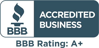 Better Business Bureau Accredited - BBB A+ Rating